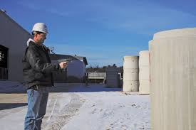 electronic inspection of precast structure