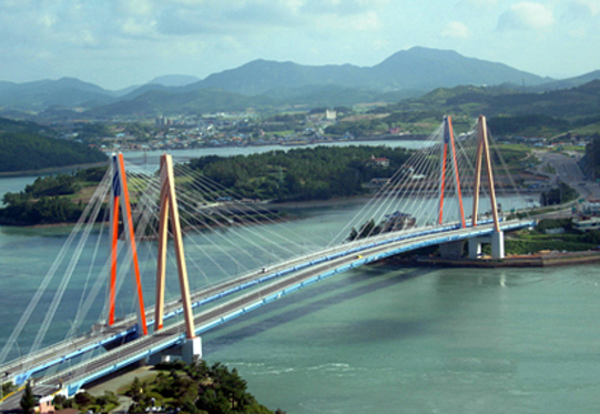 Jindo Bridge S Korea