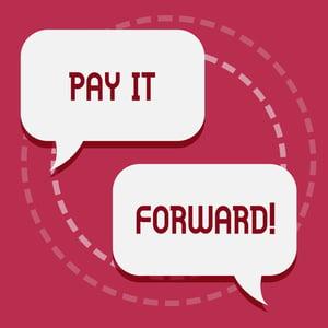 Pay It Forward Social Media