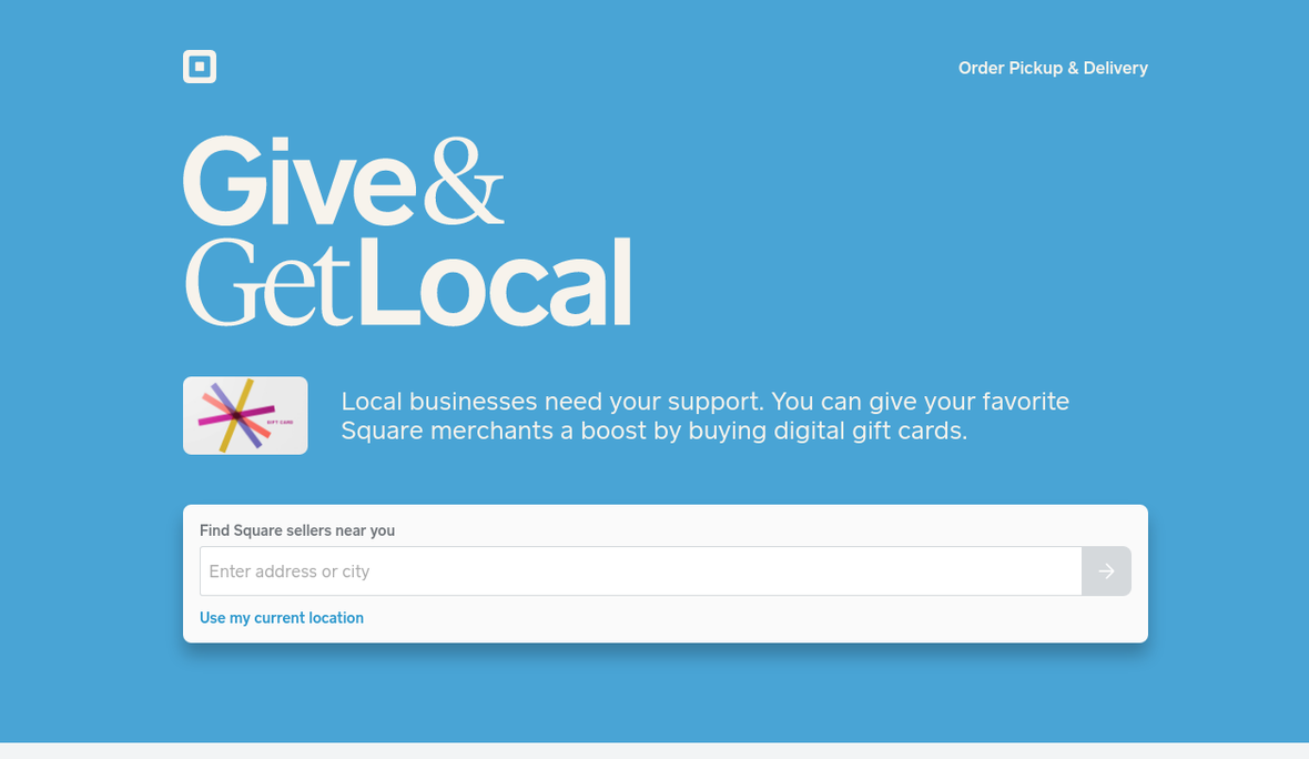 give & get local. square(2)
